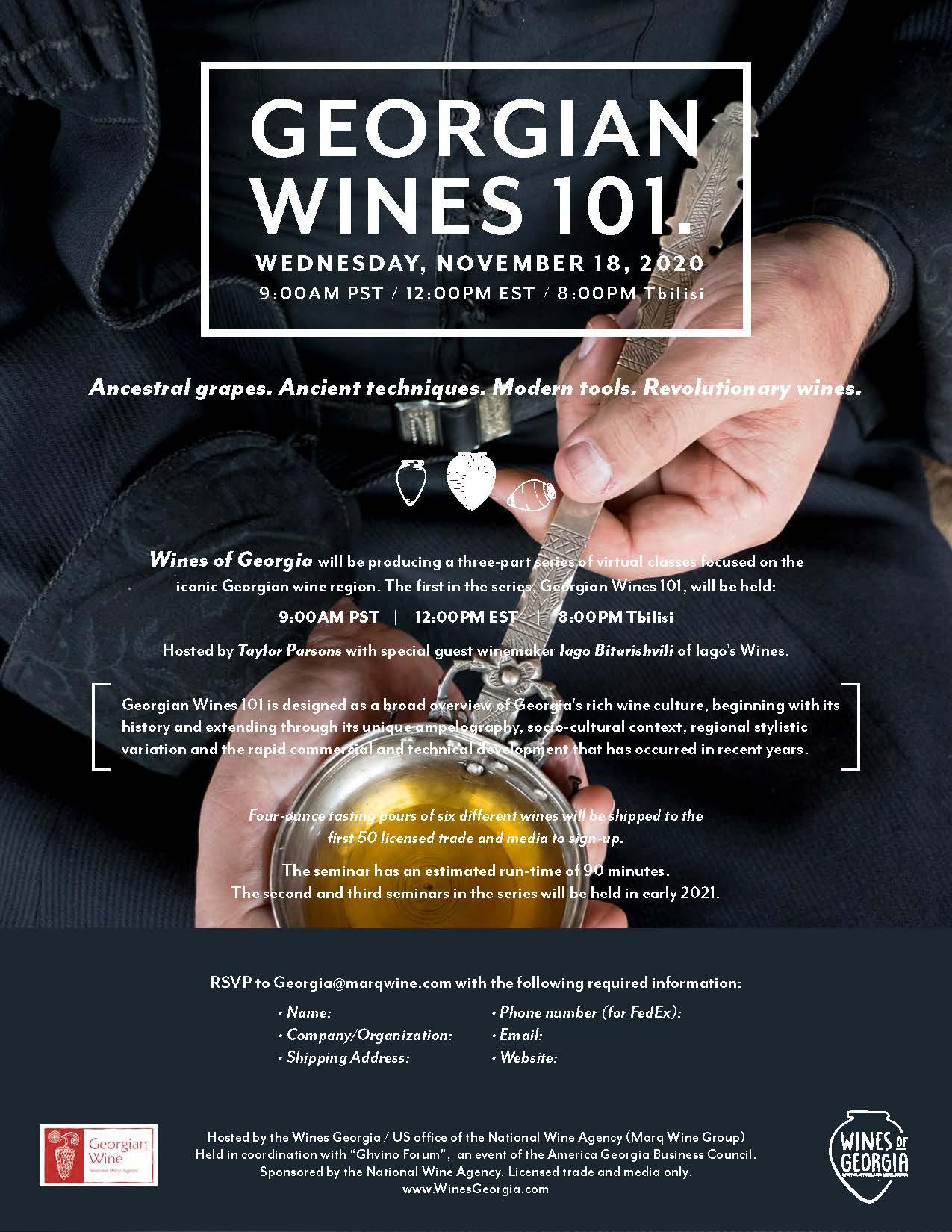 Georgian Wine 101
