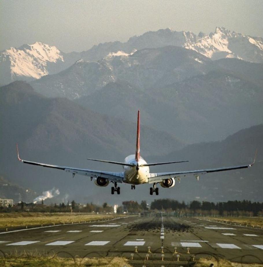 Flight Landing in Batumi